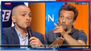 """""""Vous avez un niveau d'imbécilité étonnant !"""" : Mathieu Kassovitz charge un policier sur LCI"""