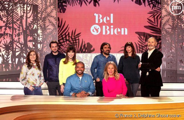 Agathe Lecaron, Ali Rebeihi, Guillemette Odicino, Stan Gusman, Isabelle Morizet, André Manoukian, Danièle Gerkens, Christophe André.