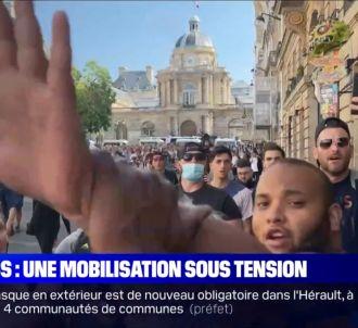 Un journaliste de BFMTV agressé durant une manifestation...