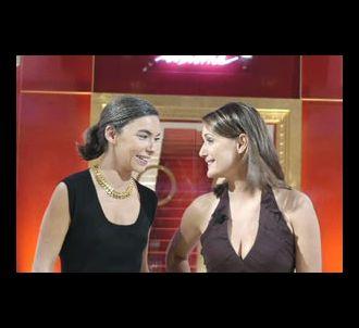 Elisabeth Quin, chroniqueuse, et Daniela Lumbroso,...