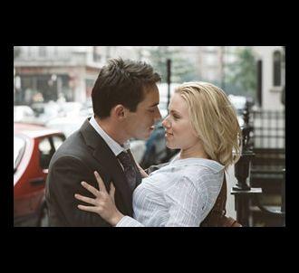Jonathan Rhys-Meyers et Scarlett Johansson dans 'Match...