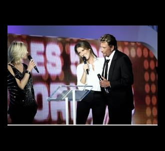 Flavie Flament, Céline Dion et Johnny Hallyday sur le...