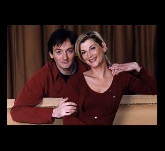Pierre Palmade et Michèle Laroque dans 'Ils s'aiment'