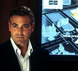 George Clooney dans 'Ocean's eleven'.