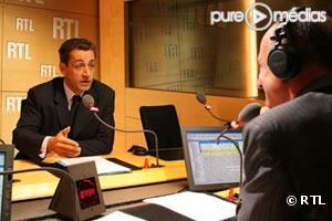Nicolas Sarkozy invité de Jean-Michel Aphatie sur RTL