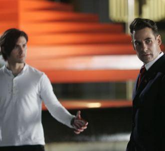 Les frères Petrelli dans 'Heroes'.