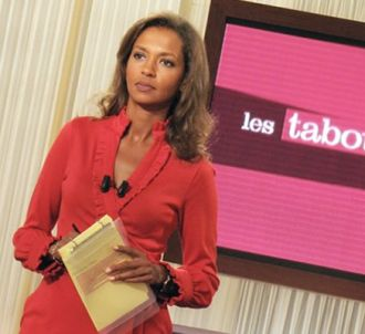 Karine Le Marchand présente 'Les tabous de...'.