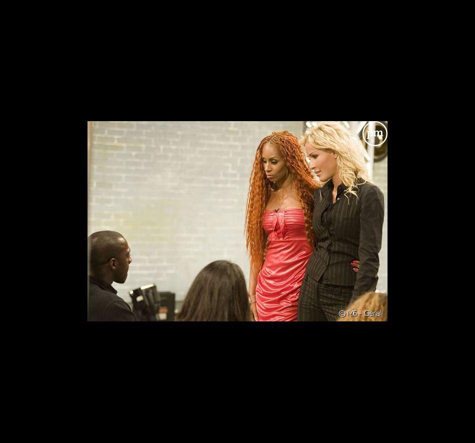 """Mia Frye et Ophélie Winter dans """"Popstars"""" sur M6"""
