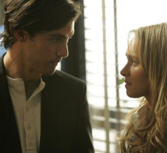 Heroes : Claire Bennet (Hayden Panettiere) et Peter...