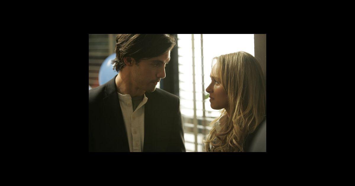 Heroes : Claire Bennet (Hayden Panettiere) et Peter Petrelli (Milo ... Hayden Panettiere