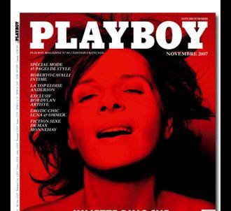 Juliette Binoche, en couverture du prochain PLAYBOY.