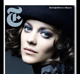 Marion Cotillard, en couverture de 'T Magazine'