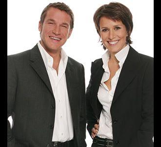 Benjamin Castaldi et Carole Rousseau.