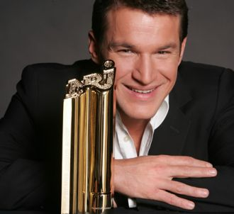 Benjamin Castaldi présente les 'NRJ Music Awards'.