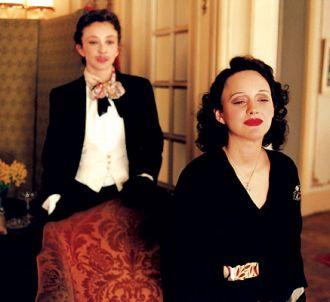 Sylvie Testud et Marion Cotillard dans 'La Môme'.