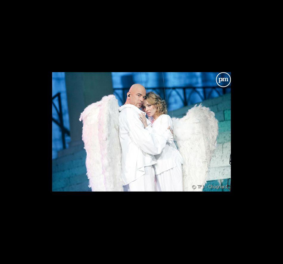 Les secrets des Enfoirés (édition 2008). Pascal Obispo et Claire Keim.