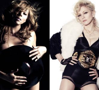 Mariah Carey et Madonna