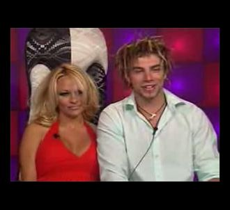 Pamela Andersone et Rory dans 'Big Brother 8'