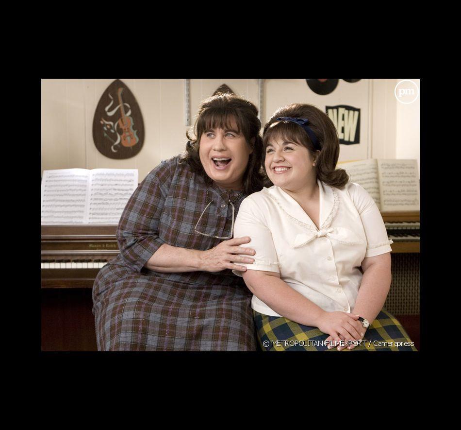 "John Travolta et Nikki Blonsky dans ""Hairspray"""