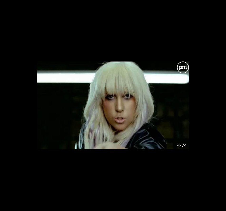 "Lady GaGa dans le clip de ""LoveGame"""