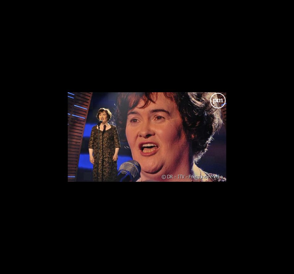 Susan Boyle, le 24 mai 2009