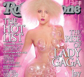 Lady GaGa en couverture de 'Rolling Stone'