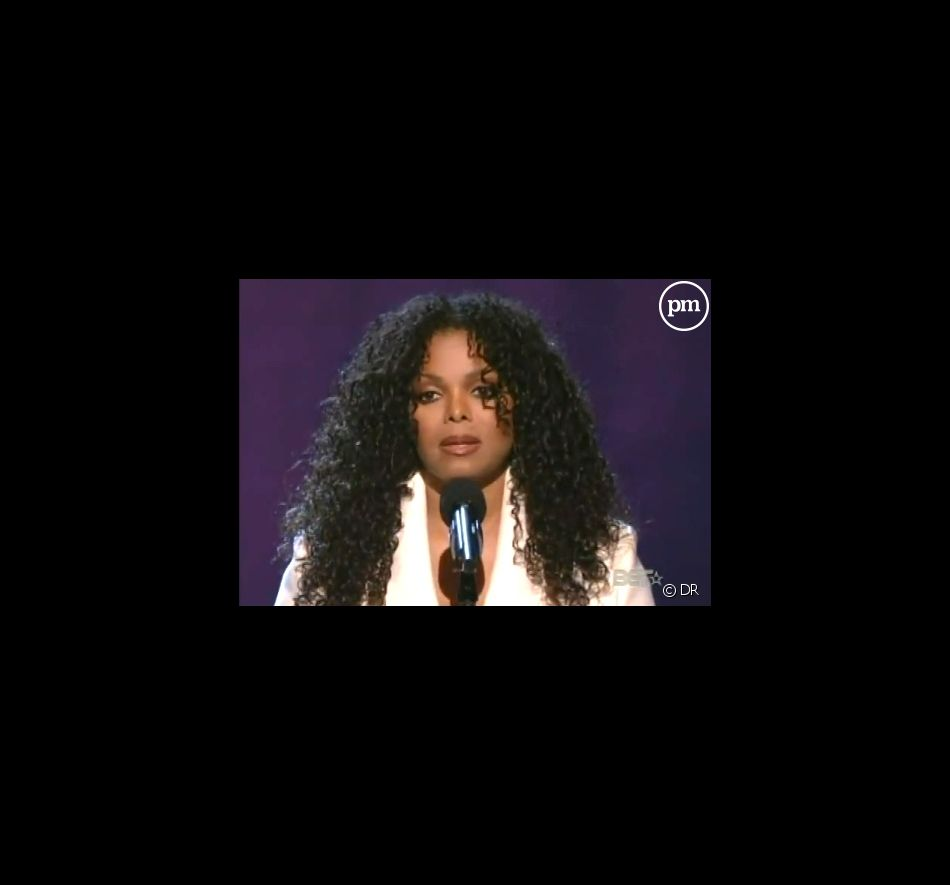 Janet Jackson aux BET Awards, le 28 juin 2009