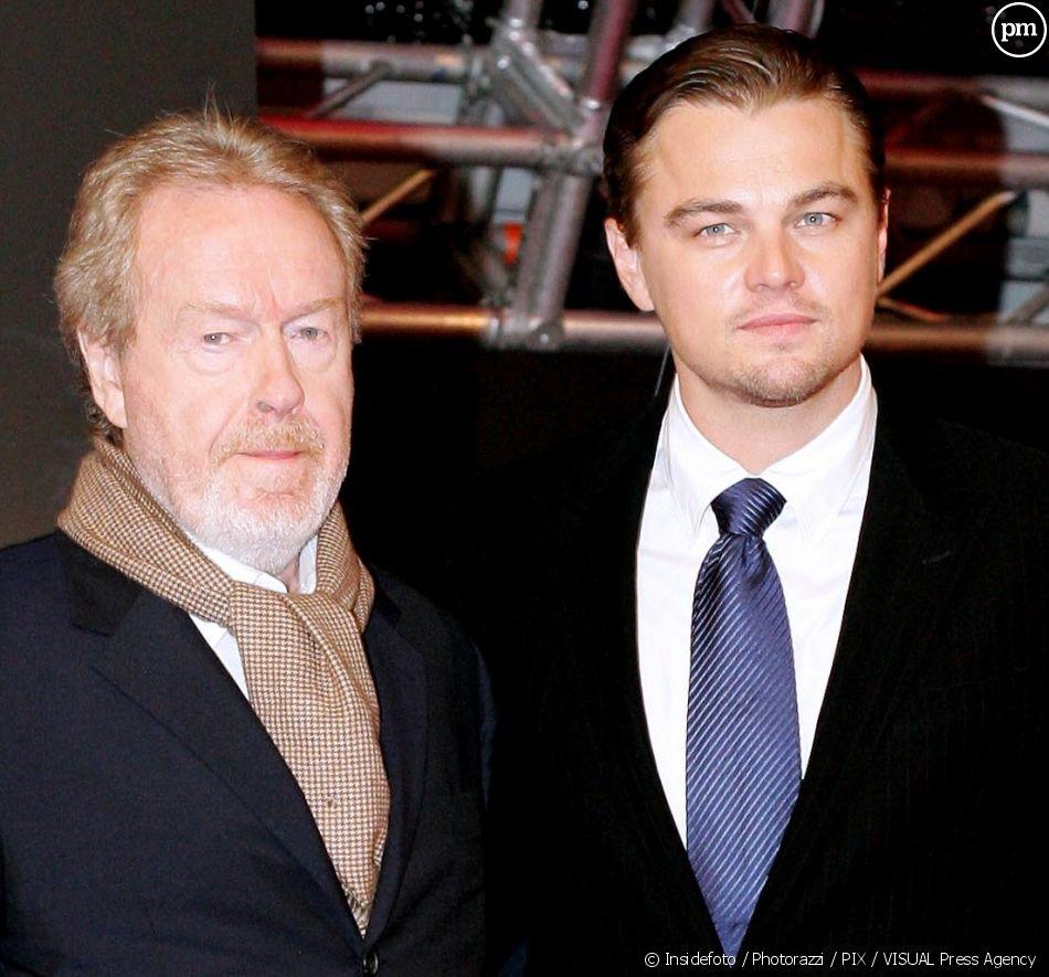 Ridley Scott et Leonardo DiCaprio