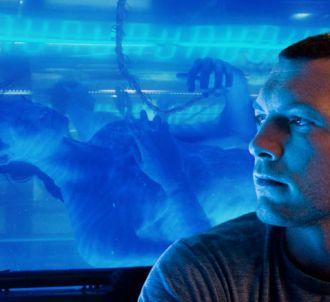 Sam Worthington dans 'Avatar'