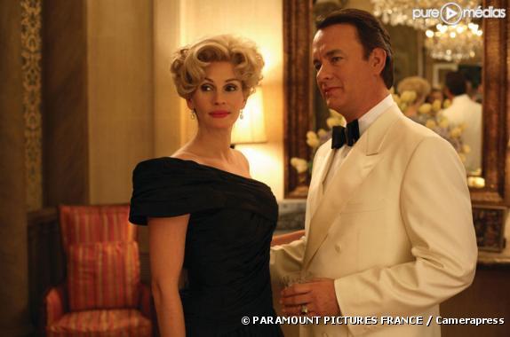 "Julia Roberts et Tom Hanks dans ""La Guerre selon Charlie Wilson"""