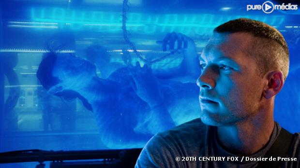 "Sam Worthington dans ""Avatar"""