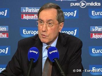 Claude Guéant, le 17 janvier 2010 sur Europe 1