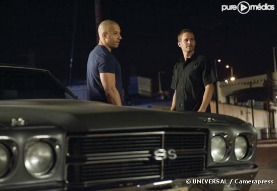 """Vin Diesel et Paul Walker dans """"Fast and Furious 4"""""""
