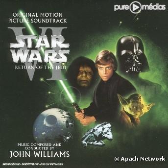 Pochette : La Guerre des étoiles : épisode 6 - le Retour du Jedi [Star Wars : Episode 6 - Return of the Jedi] [