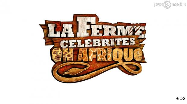 """Le logo de """"La Ferme Célébrités en Afrique"""""""