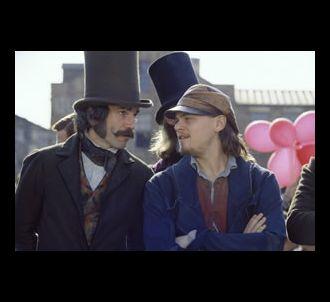 Daniel Day-Lewis et Leonardo DiCaprio dans 'Gangs of New...
