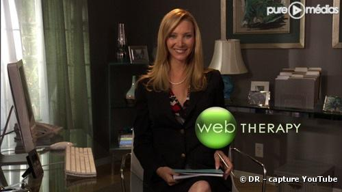 "Lisa Kudrow dans ""Web Therapy"""