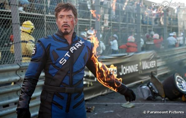 """Robert Downey, Jr. dans """"Iron Man 2"""""""