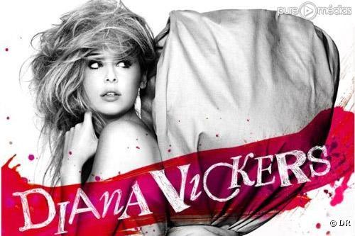 "Diana Vickers sur la pochette de son album ""Songs from the Tainted Cherry Tree"""