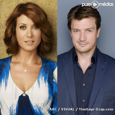 Kate Walsh et Nathan Fillion