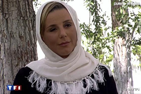 Laurence Ferrari s'entretient avec le président iranien, le 7 juin 2010 sur TF1.