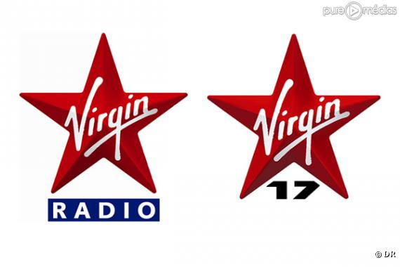 Les logos de Virgin Radio et Virgin 17.