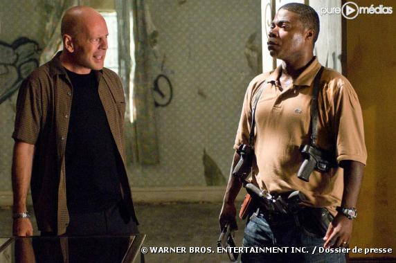 "Bruce Willis et Tracy Morgan dans ""Top Cops"""