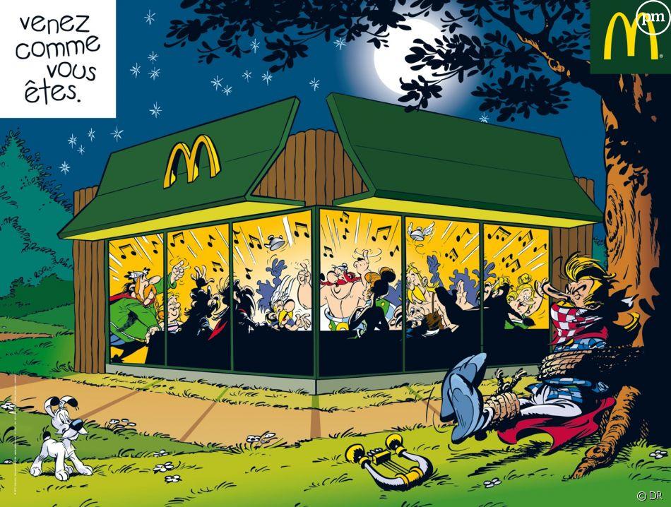La campagne publicitaire de McDonald's en 2010.