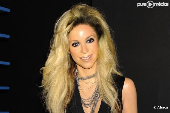 La statue de cire de Shakira au Musée Madame Tussaud de New York