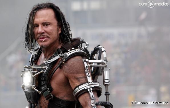 "Mickey Rourke dans ""Iron Man 2"""
