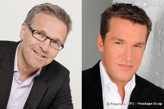 Laurent Ruquier et Benjamin Castaldi