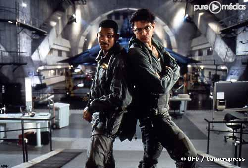 "Will Smith et Jeff Goldblum dans ""Independence Day"""