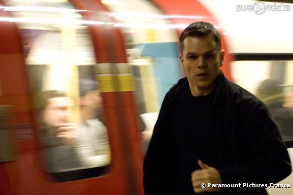 """Matt Damon dans """"La Vengeance dans la peau"""""""