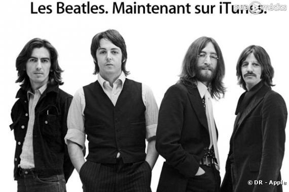 Apple annonce l'arrivée des Beatles sur iTunes